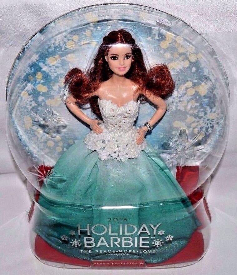 Nuevo-Raro Pelo Castaño Cabeza Rojo 2016 Vacaciones Barbie Doll-sólo K-mart-vendido