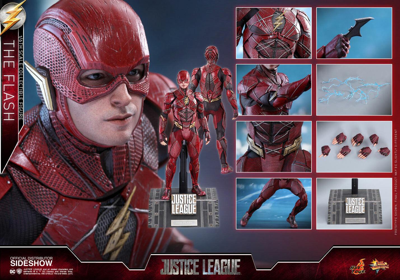 DC caliente giocattoli Justice League The Flash Ezra Miller Barry tuttien 16 cifra In Stock