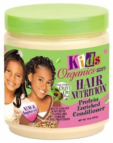 Africa's Best Organics Kids Hair Nutrition Protein Enriched Conditioner 15oz