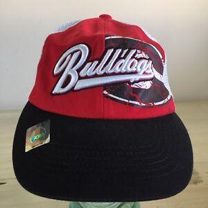 773ebb804fa GEORGIA BULLDOGS - NWT Red Black White Mesh SnapBack Trucker NCAA ...