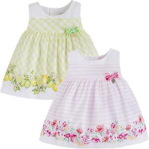 00904bd16bde Mayoral Baby Girls 1M-24M Floral Citrus Border Social Party Dress ...
