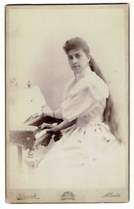 CDV-Big-Cabinet-Photo-Pretty-Woman-playing-Piano-music-Abbazia-Opatij-2850