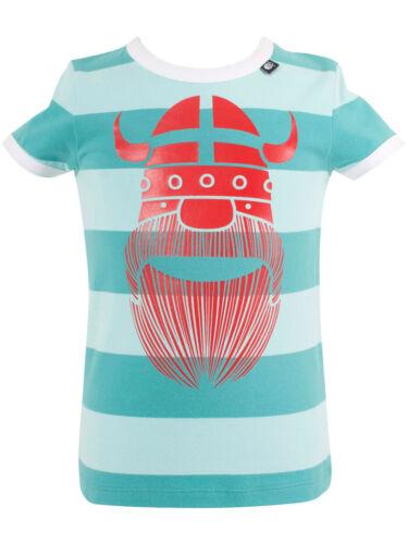 Danefae Sigurd Ringer Erik Dusty aqua Erik T-Shirt