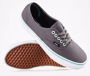 f6ed6bec59e158 Vans Authentic (Pop) Gargoyle Grey   Blue Curacao -Men s Sk8 Shoe ...