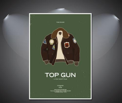 A4 sizes A3 A1 A2 Top Gun Vintage Art Deco Poster