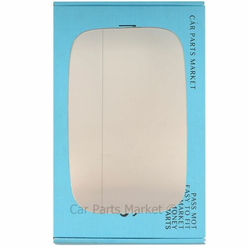 Côté Gauche Grand Angle Wing Door Mirror Glass for Land Rover Defender 1948-2016