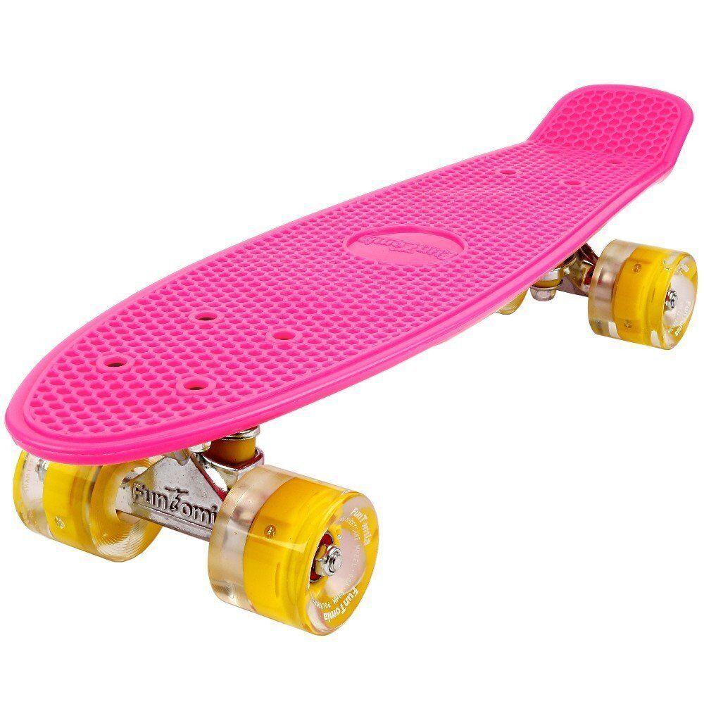 Mini-Board funtomia ® LED skateboard Cruiser Enfants Board - Board ABEC - Board 11 sac 1875 f7a276