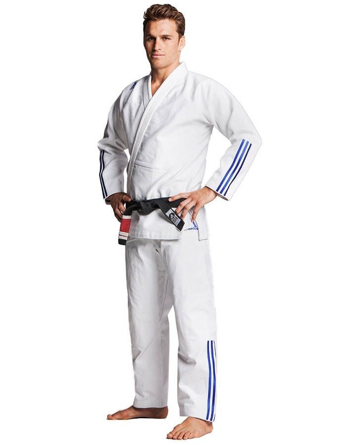 Adidas- BJJ Anzug  Quest    weiß JJ600. Größe  A1-A5. BJJ. Jiu Jitsu.Grappling. Gi b71284
