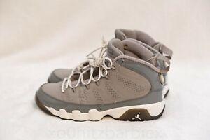 huge selection of 24fd0 7a552 Details about Nike Air Jordan 9 IX Retro OG BG Boys Size 4.5Y COOL GREY