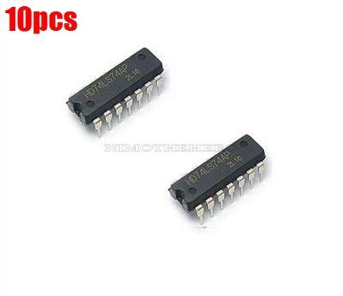 10Pcs SN74LS74 74LS74 Dual D-Type Flip-Flops Ic New rk