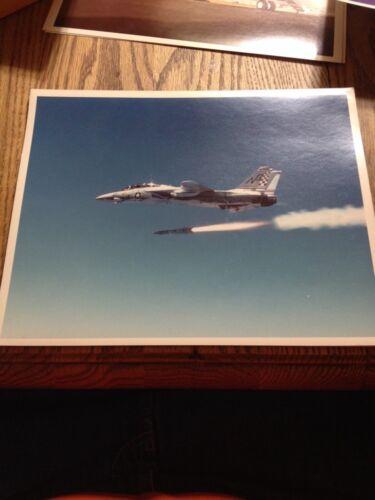 NASA Photo 8X10 Aircraft Built by Grumman Aircraft Corp Jet Fighter Missle