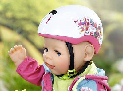 Puppen & Zubehör Baby Born-Puppen Zapf Creation 823729 Baby Born Play & Fun Fahrradhelm günstig kaufen