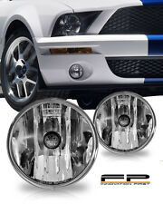 2007-2011 Ford Mustang Shelby GT500 Replacement Fog Lights Housing Clear Pair