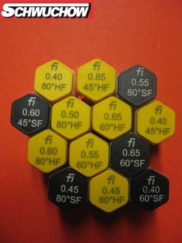 H 45 60 Fluidics Sf HF Buse D/'Huile Tailles 0,40 0,45 0,50 0,60 0,65 US GAL
