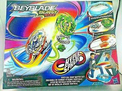 Beyblade Burst Rise Hyper Sphere Vertical Drop Battle Set New 630509883615 Ebay