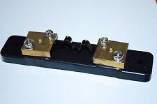 50A 75mV SHUNT RESISTOR MATCHING DC CURRENT METER AMP ANALOG PANEL AMMETER A162