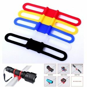 Cycling-Bicycle-Bike-Mount-Holder-for-LED-Flashlight-Phone-Torch-Clip-Clamp-UK