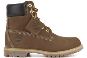 NEW Timberland 6-Inch Premium 10360 Women s Rust Nubuck Waterproof ... 535b83710