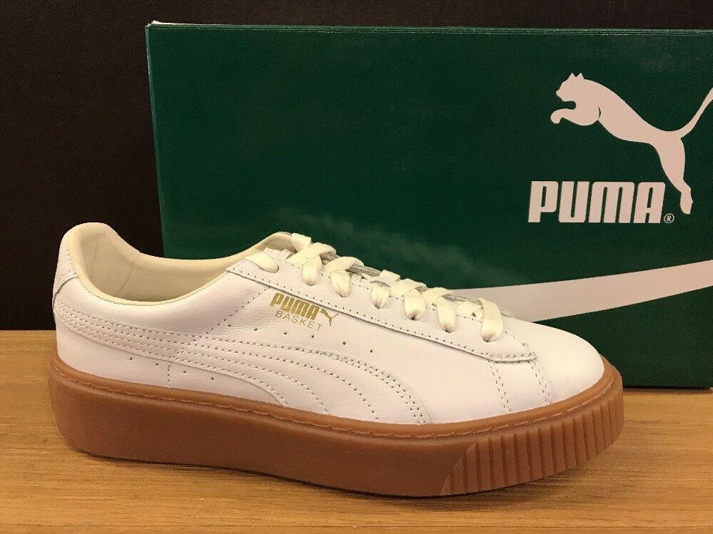 Zapatos promocionales para hombres y mujeres PUMA PLATFORM 364040 01 n.38 NUOVE 100% ORIGINALI !!!