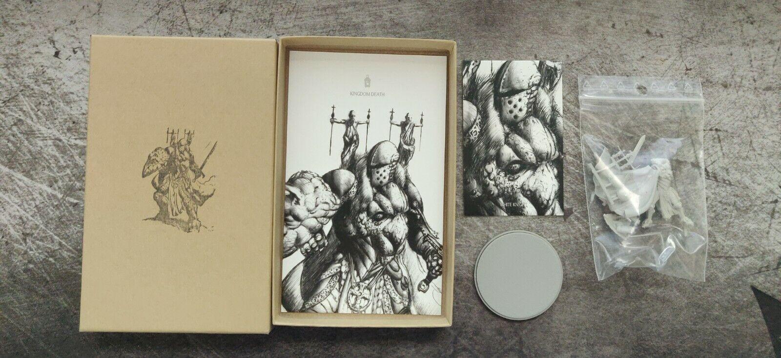 Kingdom Death - White Knight Encore Edition Resin Miniature - Brand New