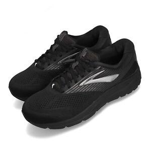 Brooks-Addiction-14-4E-Extra-Wide-Black-Grey-Men-Running-Shoes-Runner-110317-4E
