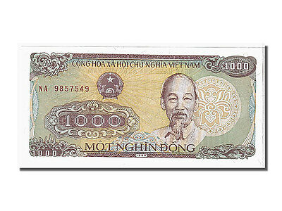 1988 Unc Km #106a #105050 1000 Dng Viet Nam Learned Na9857549 65-70