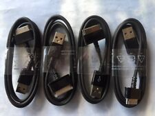 4 Pack 30pin to USB Charger Data Sync Cable for Samsung Galaxy Tab 2 - 1 Meter