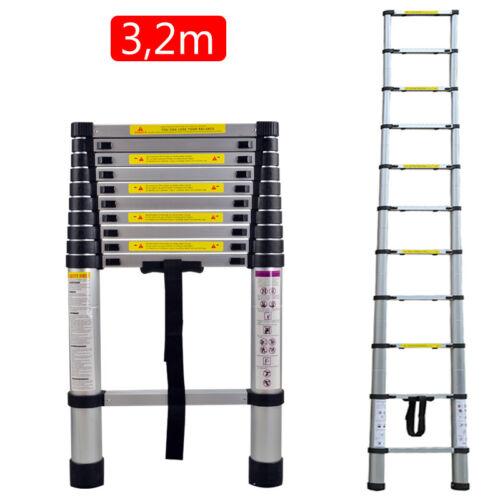Teleskopleiter Klappleiter Multifunktionsleiter Stehleiter Ausziehleiter 2-5M