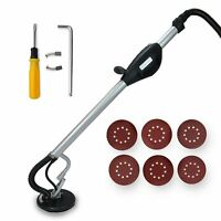 Extended Long Reach Electric 5 Speed Drywall Sander 110v 6pcs Sand Paper Set on sale