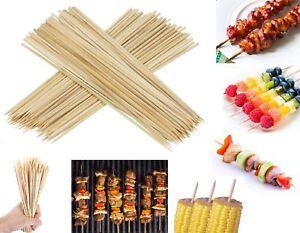 "12"" long 100 en bois bambou brochettes barbecue sticks barbecue kebab chocolat bar party-afficher le titre d`origine hKe0cBNr-07205203-631069810"