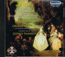 CD album: Tartini: Four Concertos for Violin & Orch. . Vashegyi. Hungaroton  . H