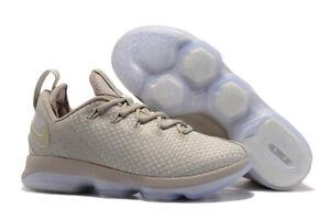 08dc51ebb43 Men s NIKE LEBRON 14 XIV Low Light Bone sz 11 Basketball Shoes ...
