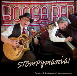 CD-Booga-Red-034-Stompymania-034-2018-Roots-Blues-Boogie