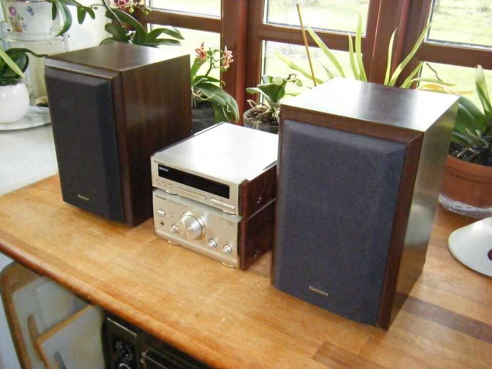 Stereoanlæg , Technics, SE-HD51 ST-HD51 SB-HD51
