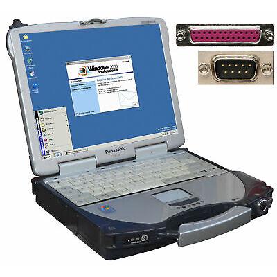 Extérieur Pc Portable Panasonic Cf-28 pour Windows 98 2000 Rs-232 Série Lpt USB