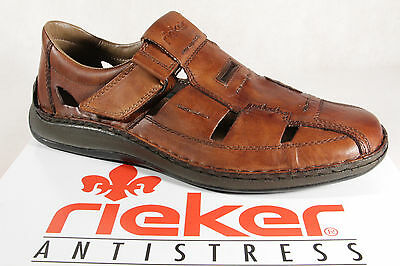 Rieker Slippers Sneakers Low Shoes Brown Genuine Leather 05284 New | eBay