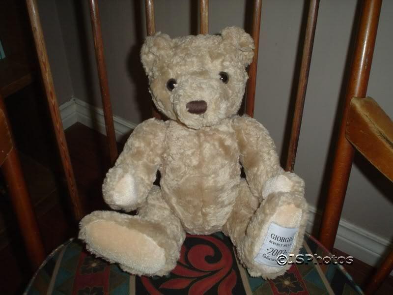 Giorgio Beverly Hills 2003 Herrington Collectors Bear