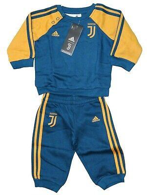 Juventus Turin Trainingsanzug Baby Gr. 68 74 80 92 Adidas Neu Track Suit Neu Hochwertige Materialien