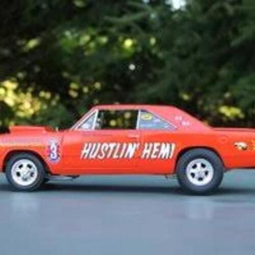Paul Richardson/'s Hustlin Hemi Dodge Dart NHRA Drag 1//24th 1//25th Scale Decals