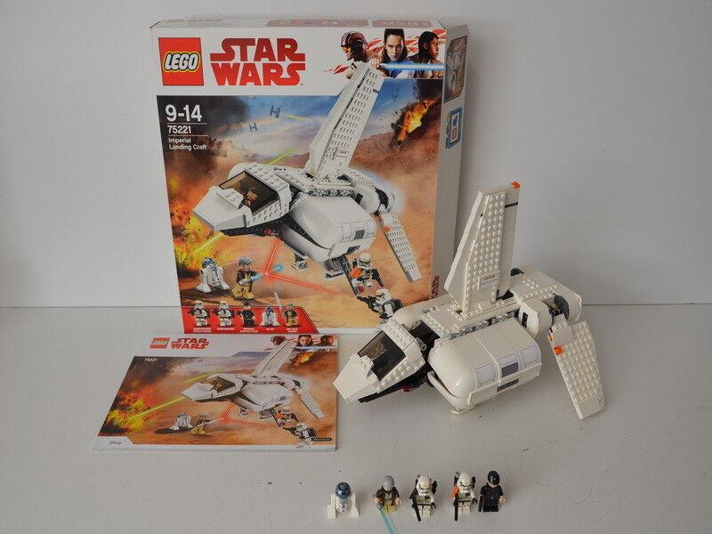 Lego Star Wars Impériale d'atterrissage Ferry 75221 déjà construit avec PVP BA et personnages