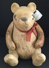 Disney Classic Winnie the Pooh Resin Wooden Jointed Figure Charpente