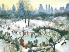 Skating in Central Park Boxed Holiday Full Notecards by Agnes Tait 9780735344198