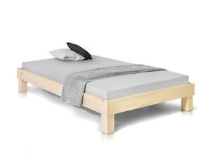 Pumba Bett Ohne Kopfteil Fichte Massivholzbett Doppelbett Futonbett