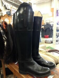 1770222c82113 Details about BEAUTIFUL BLACK DEHNER CUSTOM RIDING BOOTS--SIZE 9 1/2
