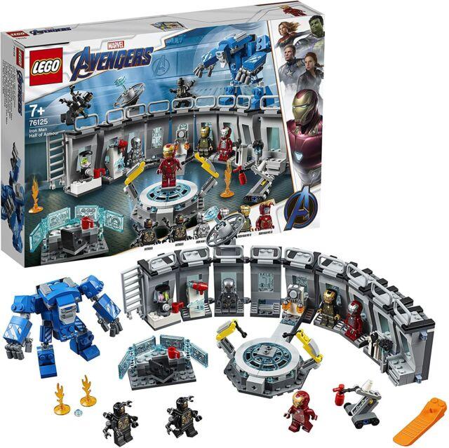 Lego Marvel Super Heroes 76125 MondoBrick Sala delle Armature di Iron Man