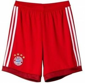 Adidas Mens Football FC Bayern Munich Goalkeeper GK Away Shorts 2015 ... ec53e0bbcf85b