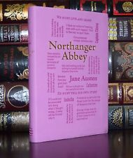 Northanger Abbey by Jane Austen Brand New Unabridged Deluxe Soft Leather Feel