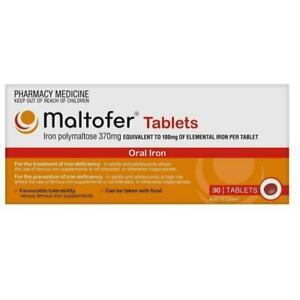 Maltofer Iron Tablet, 100 mg - 30 Tablets