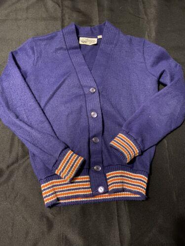 Coleman Knitting Mills Letterman Cardigan Sweater