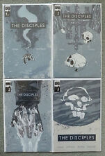 THE DISCIPLES #1-4 SET..NILES/MITTEN..BLACK MASK 2015..SOLD OUT 1ST PRINT..VFN+